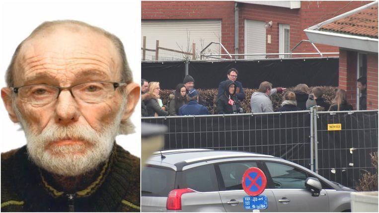 Dader Pieter V. geeft aanwijzingen over het verloop van de moord op Freddy Pissonnier van vorige zomer.