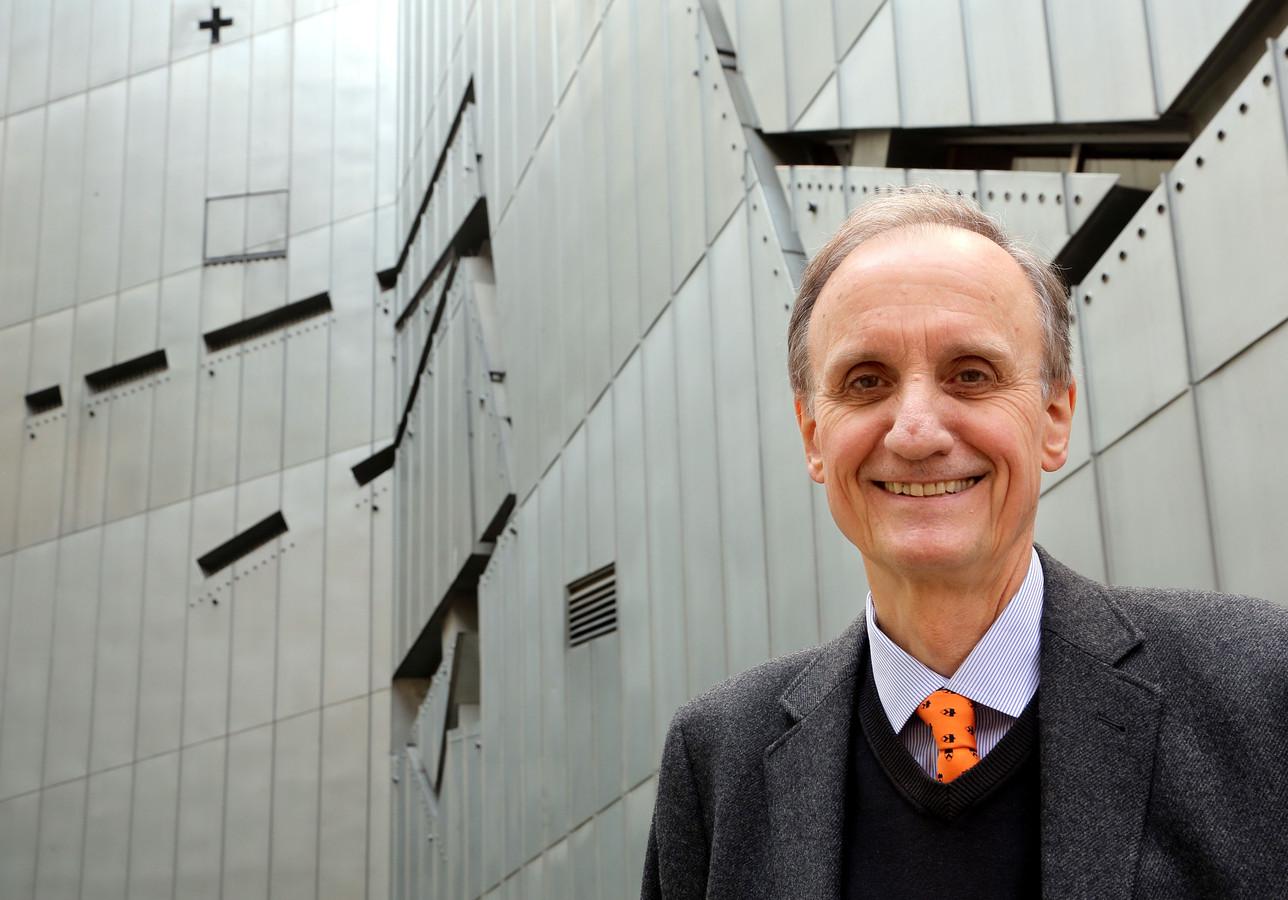 Directeur Peter Schäfer voor het Joods Museum in Berlijn in 2014.