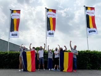 """Duivelskoorts ook goed te voelen bij vlaggenfabrikant VISIX: """"Al 4.000 Belgische vlaggen verkocht"""""""