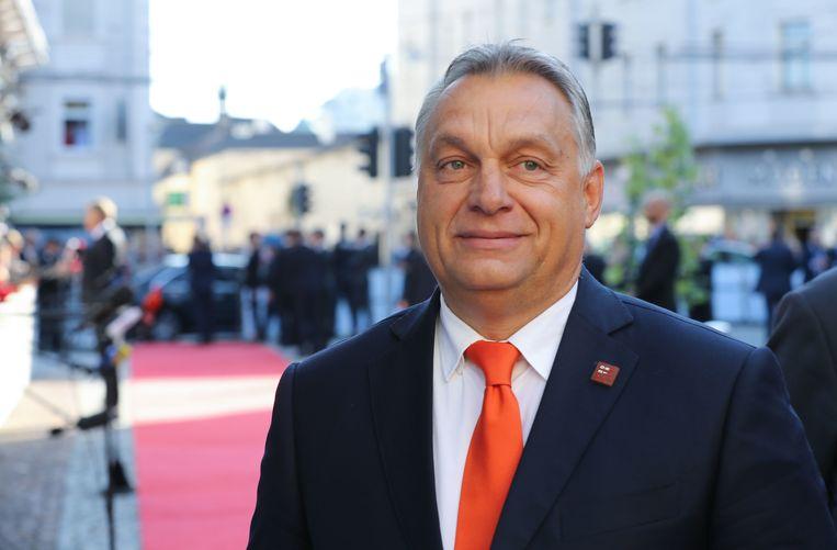 Hongaars premier Viktor Orbán. Beeld BELGAIMAGE