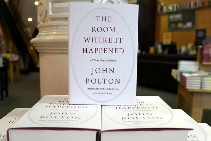 'The Room Where It Happened', het omstreden boek van John Bolton.