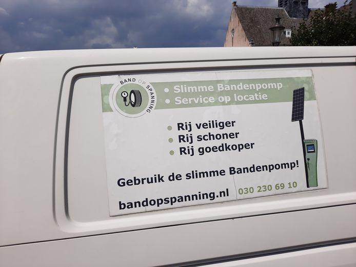 Het busje van Band op Spanning staat op 14 en op 8 en 15 juli opnieuw in Etten-Leur, op respectievelijk het Van Bergenplein en de Kerkwerve.