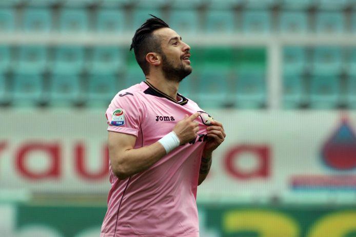 Ilija Nestorovski van US Palermo.