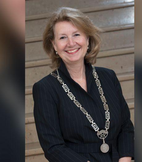 Burgemeester Pauline Bouvy-Koene van Voorschoten tijdelijk vervangen
