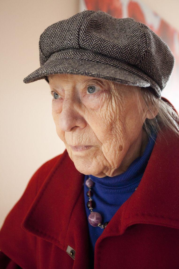 De moeder van Hugo Borst Beeld Margi Geerlinks