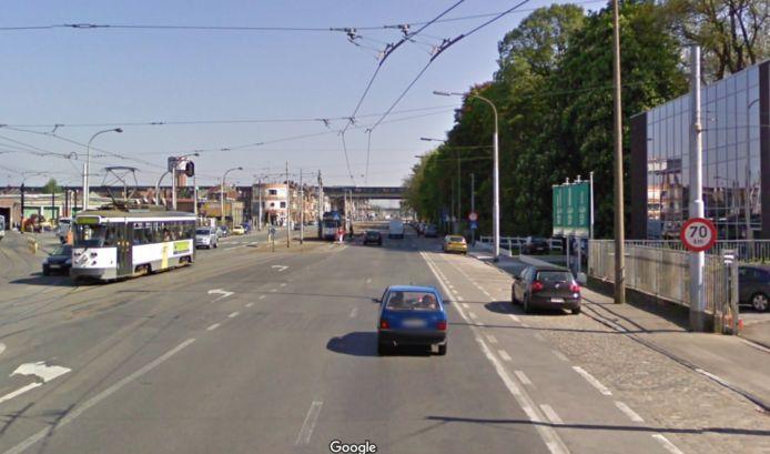 Van aan de Colruyt in Gentbrugge mocht je 70 per uur rijden op de Brusselsesteenweg, maar dat verandert binnenkort.