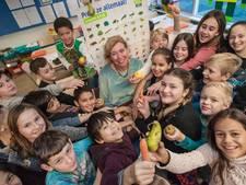 Fruit en groenten, thuis 'niet lekker', in de klas best te pruimen