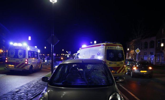 Voetganger aangereden in Geertruidenberg.
