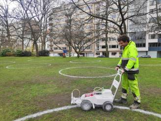 Ook (kleine) krijtcirkels in 3 Gentse parken, meer toezicht en meer afvalkorven