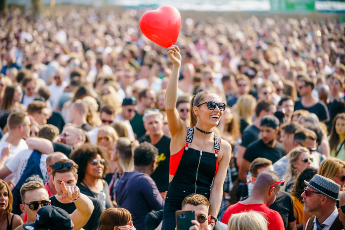 Het Toffler festival eerder deze maand.