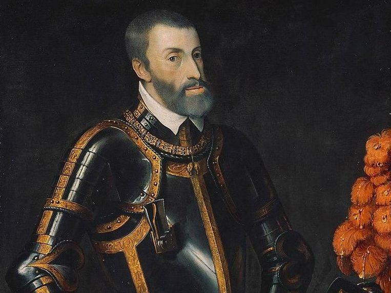 Keizer Karel V, die heerste over de Nederlanden en Spanje. Beeld rv