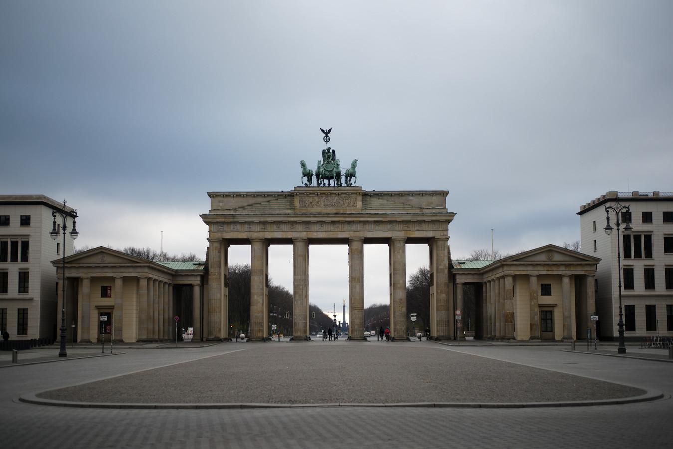 La porte de Brandebourg, à Berlin, ce 27 novembre.