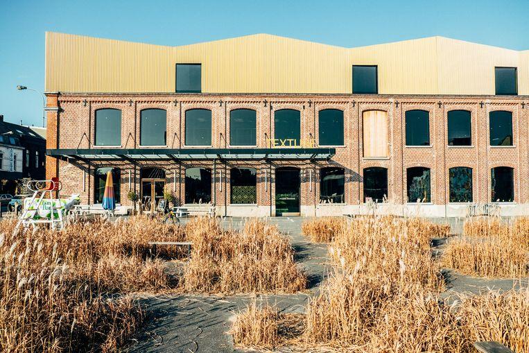 Het nieuwe museum Texture illustreert de transformatie naar de maakindustrie in Kortrijk. Beeld Thomas Sweertvaegher