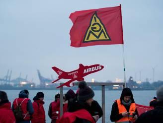 Vrijdag werkonderbrekingen bij Airbus in Duitsland