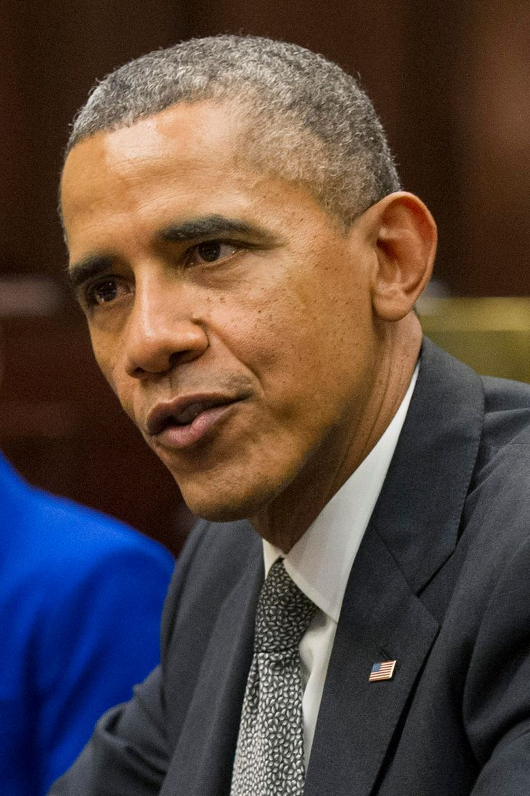 De Amerikaanse president Barack Obama. Beeld PHOTO_NEWS