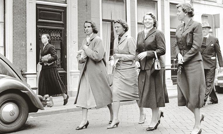 Leiden, 4 september 1956. Beeld