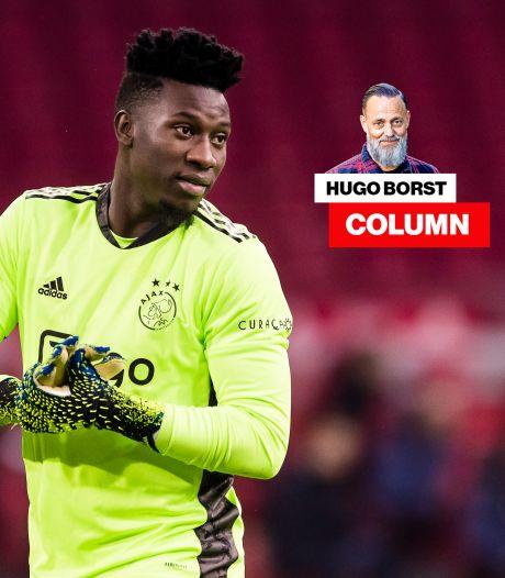 Column Hugo Borst   Andre Onana is het Ajax-shirt niet meer waard, klaag die weggooier aan