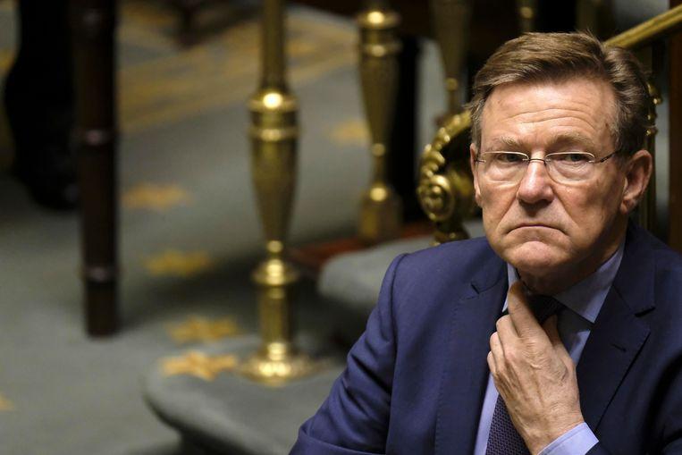 Minister van Financiën Johan Van Overtveldt. Beeld BELGA