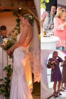 Gasten op 'verjaardagsfeest' weten niet wat ze meemaken: plots verschijnt bruidspaar