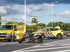 Motorrijder ernstig gewond bij eenzijdig verkeersongeval op de A15
