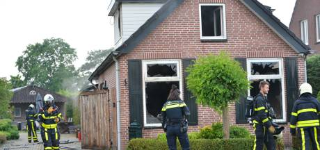 Veel schade na woningbrand in Sprundel
