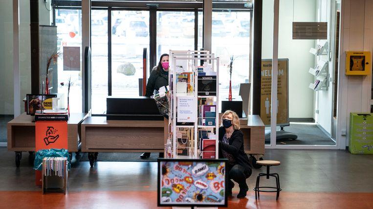 De bibliotheek van Stadskanaal.  Beeld Reyer Boxem
