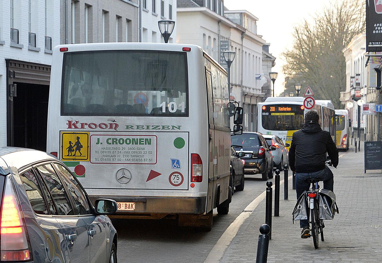 Nog dit jaar plan voor veiliger fietsen | Foto | hln.be