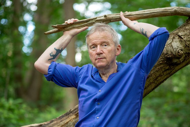 René ten Bos: 'Ik ben sadder, older and wiser. Maar ik geniet nog steeds van het weer. ' Beeld Jorgen Caris