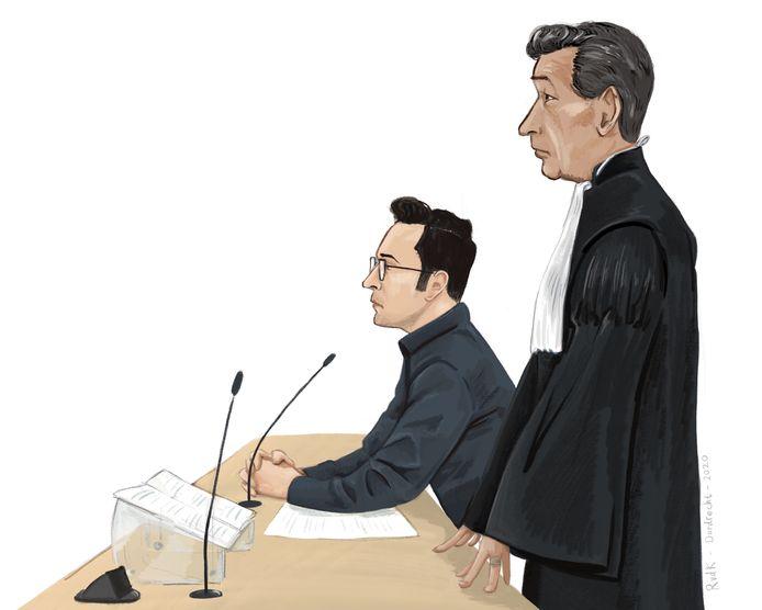 De echtgenoot van de omgebrachte Negar Karooji werd bijgestaan door advocaat Gerard Spong.
