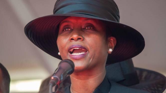 """Neergeschoten first lady zag president Haïti in hun kamer sterven: """"Het is voorbij, dacht ik"""""""