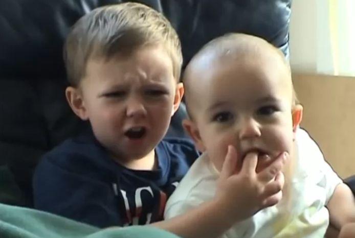 'Charlie bit my finger!' is YouTube-geschiedenis. © YouTube