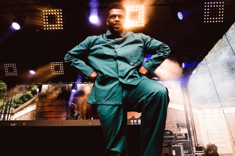 Acts als Dvtch Norris zijn het bewijs waarom België nood heeft aan een rapfestival. Beeld Francis Vanhee