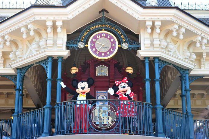 Archiefbeeld Disneyland Parijs.