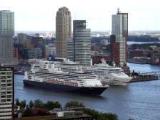 Cruiseschip brengt opnieuw gestrande bemanning naar Rotterdam