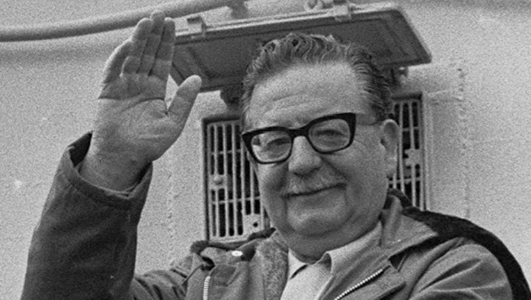 Salvador Allende. Beeld AP