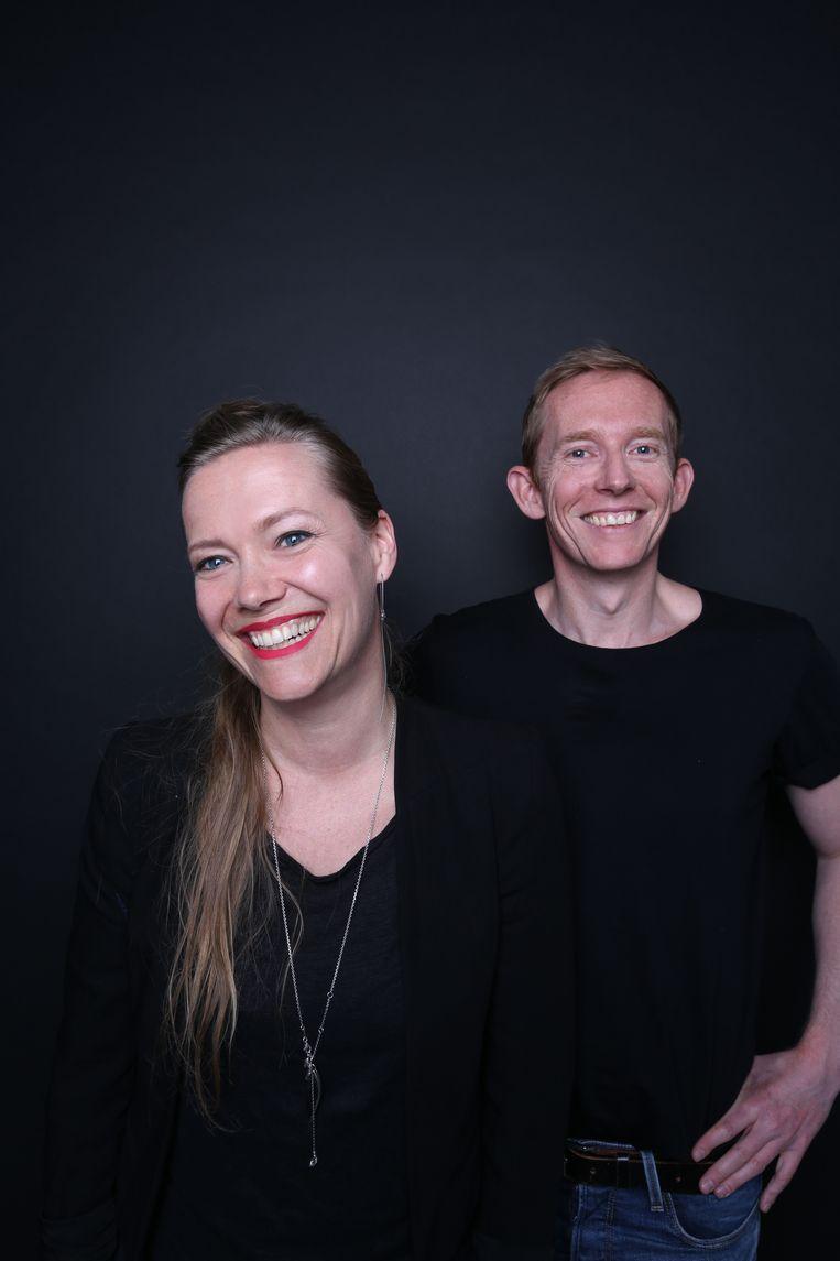 Marieke Holthuis en Diederik Verbakel: de creatieven achter Died. Beeld Louise te Poele
