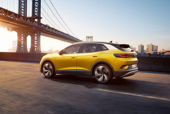 VW's eerste elektrische SUV. De versie die met 125 kW kan snelladen heeft maar een halfuurtje nodig om weer 320 kilometer verder te kunnen rijden.