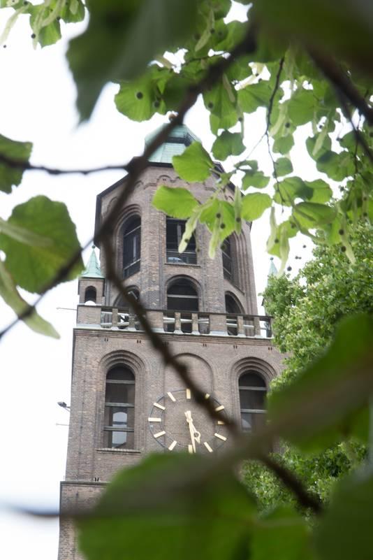 De kerk in Huissen Stad.