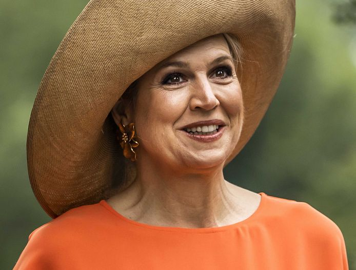 De Nederlandse koningin Maxima.