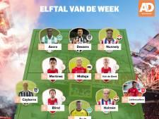 Ajax ook dominant in Elftal van de Week