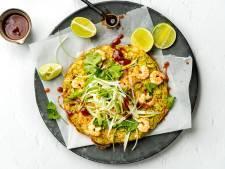 Wat Eten We Vandaag: Rijstomelet met garnalen