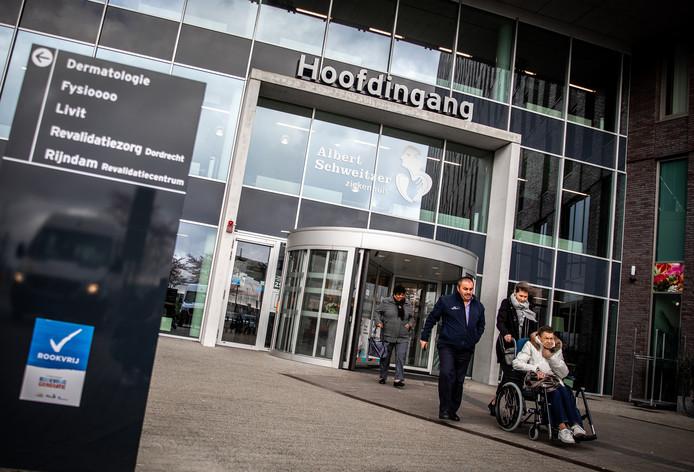Exterieur Albert Schweitzer ziekenhuis Dordrecht