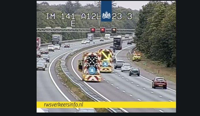 De A12 wordt opgeruimd.