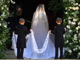 Meghan draagt jurk van Britse designer Clare Waight Keller voor Givenchy