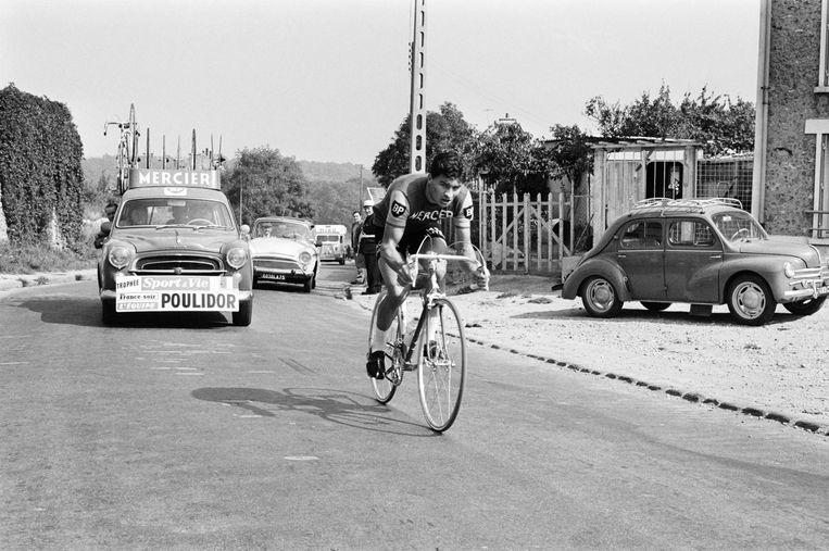 Poupou in 1963. Beeld AFP