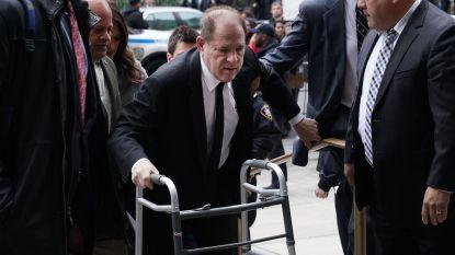 Harvey Weinstein aangekomen aan rechtbank in Manhattan voor proces, inmiddels ook aangeklaagd in Los Angeles