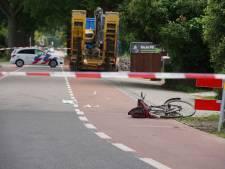 Fietser geschept op N348 bij Eefde: weg is gesloten binnen bebouwde kom