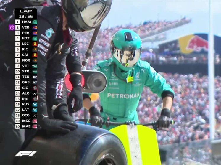 Zo pakt Verstappen de leiding over van Hamilton