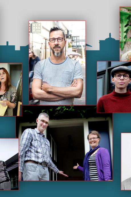 Op deze tien Dordtenaren kun je stemmen voor Dordtenaar van het Jaar 2018