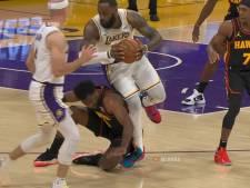 Inquiétude pour LeBron James, blessé à la cheville droite contre Atlanta